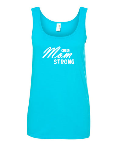 Cheer Mom Strong Tank Tops