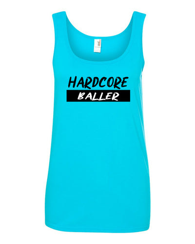 Hardcore Baller Ladies Tank Top