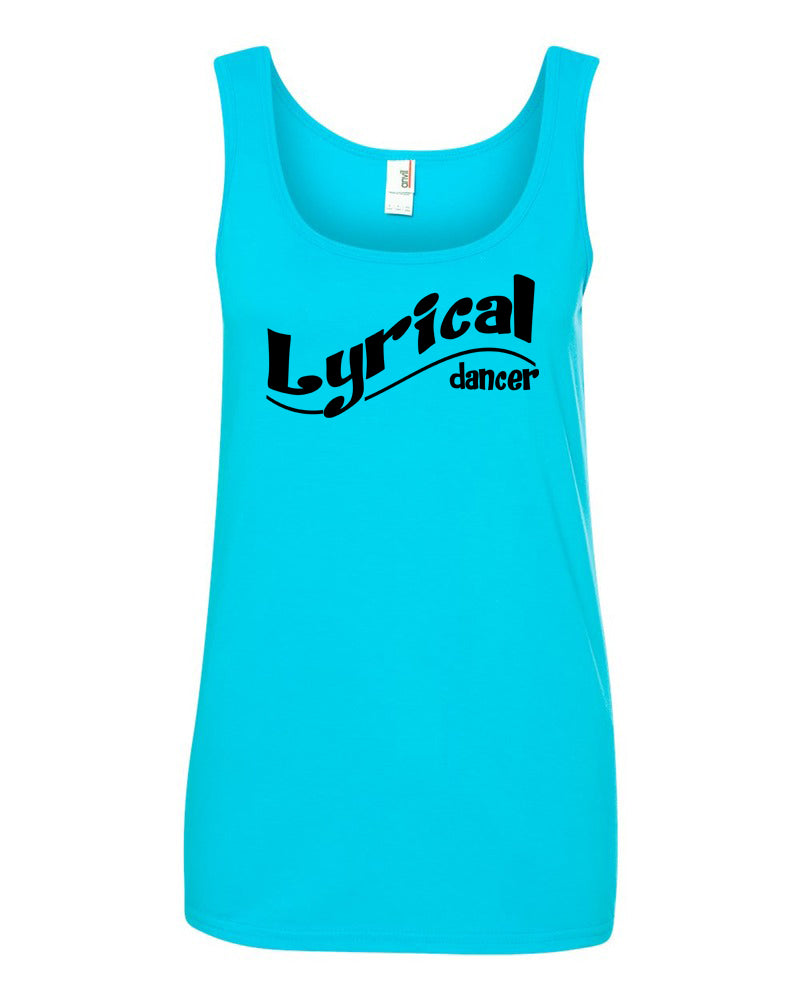 Lyrical Dancer Ladies Tank Top