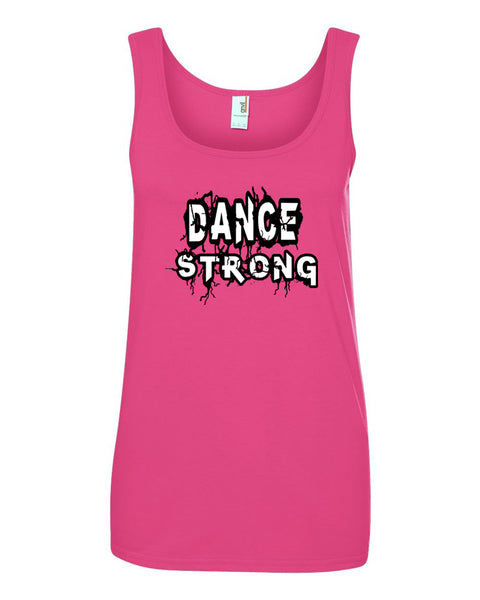 Dance Strong Ladies Tank Top