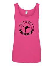 Optional Gymnast Ladies Tank Top