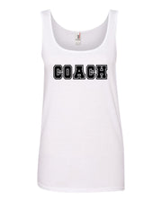 White Coach Ladies Tank Top