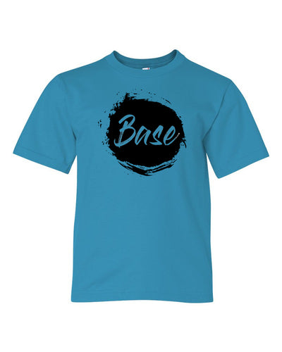 Caribbean Blue Base Kids Cheer T-Shirt