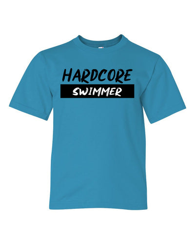 Hardcore Swimmer Youth T-Shirt