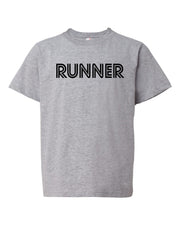 Heather Gray Runner Boys Runner T-Shirt