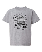 Some Girls Have Chalk In Their Veins Youth T-Shirt
