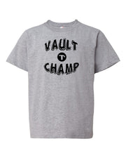 Heather Gray Vault Champ Boys Gymnastics T-Shirt