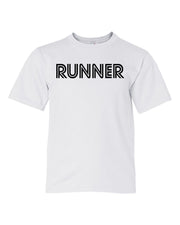White Runner Boys Runner T-Shirt
