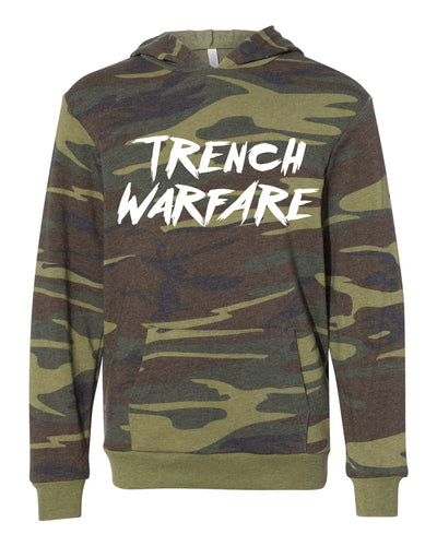 Trench Warfare Adult Camo Hoodie