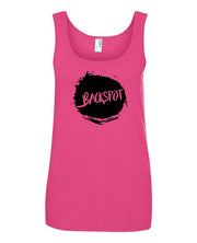 Cheer Tank Top Women Backspot Hot Pink