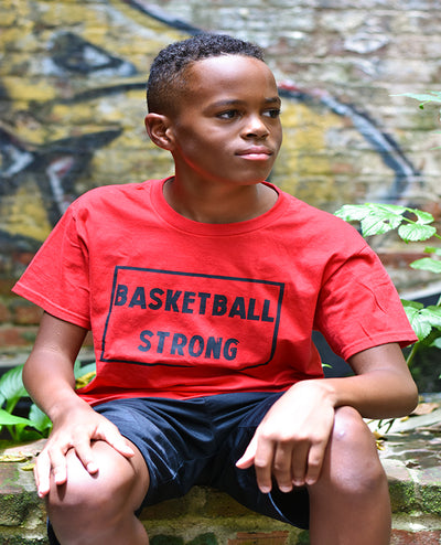 Basketball Strong Youth T-Shirt