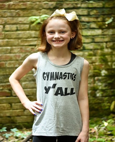 Gymnastics Y'all Girls Tank Top