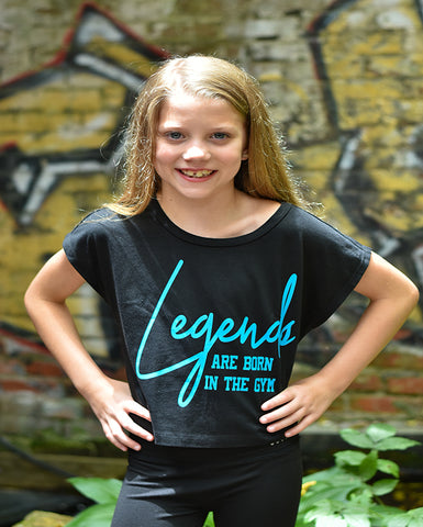 Legends Are Born In The Gym Tees Tanks Hoodies Crop Tops
