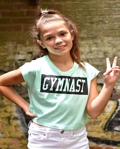 Gymnast Boxy Crop Top