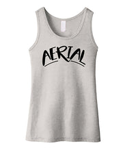 Gymnastics Tank Top Girls Aerial Heather Gray