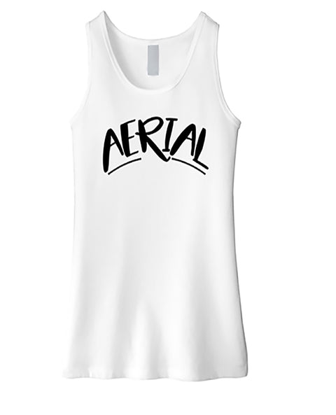 Gymnastics Tank Top Girls Aerial White