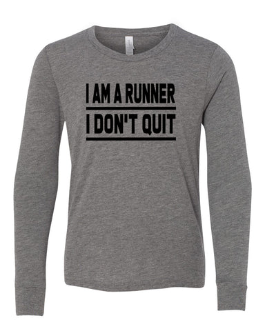 I Am A Runner I Don't Quit T-Shirts
