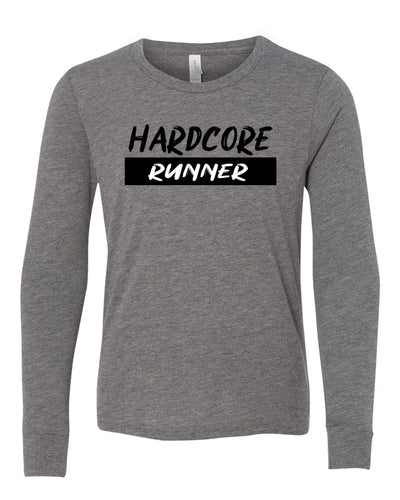 Hardcore Runner Youth Long Sleeve T-Shirt