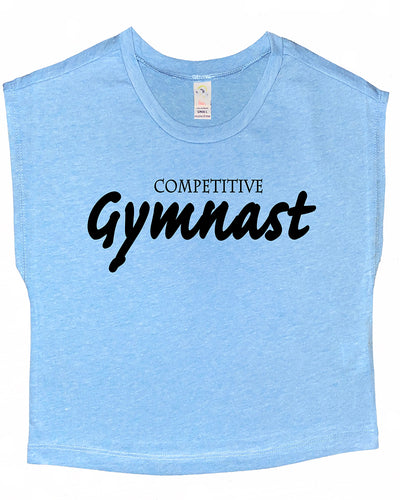 Competitive Gymnast Boxy Crop Top