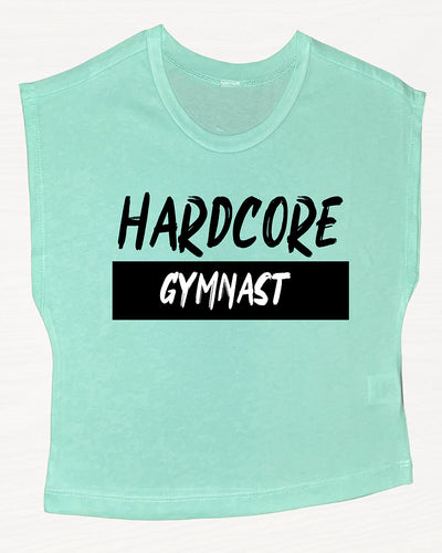 Hardcore Gymnast Boxy Crop Top