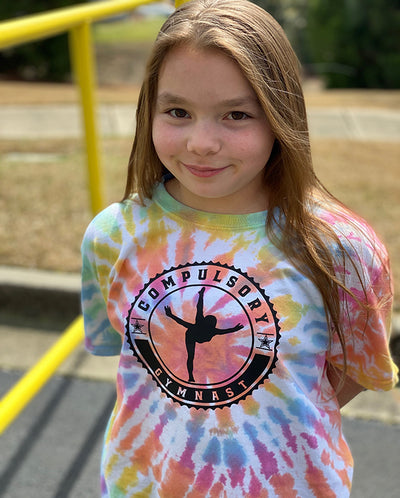 Compulsory Gymnast Youth Tie Dye T-Shirt
