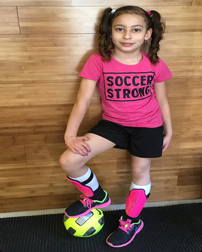 Soccer Strong Girls T-Shirt