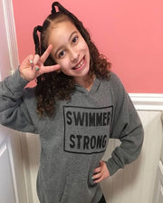Swimmer Strong Youth Hoodie