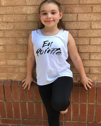 En Pointe Girls Tank Top
