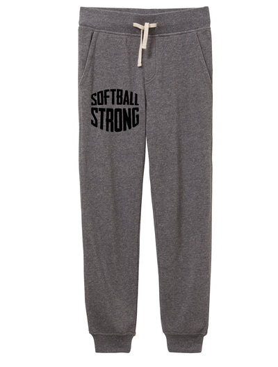 Softball Strong Adult Jogger