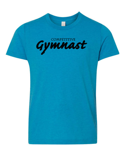 Competitive Gymnast Neon Youth T-Shirt