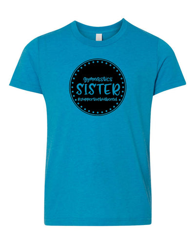 Gymnastics Sister Neon Youth T-Shirt