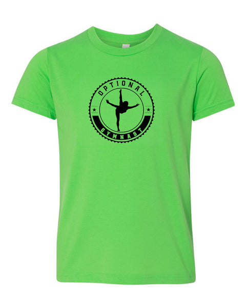 Optional Gymnast Neon Youth T-Shirt
