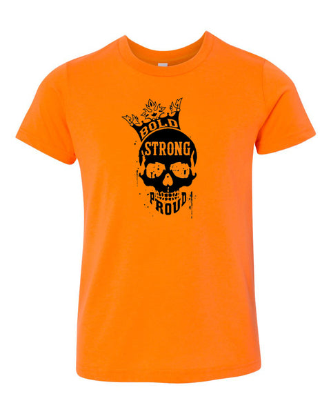 Bold Strong Proud Neon Youth T-Shirt