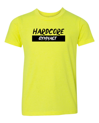 Hardcore Gymnast Neon Youth T-Shirt