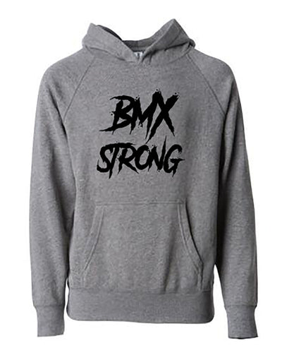 BMX Strong Adult Hoodie