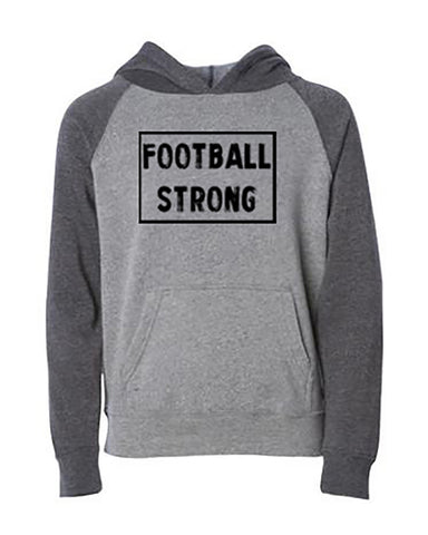 Football Strong Hoodies