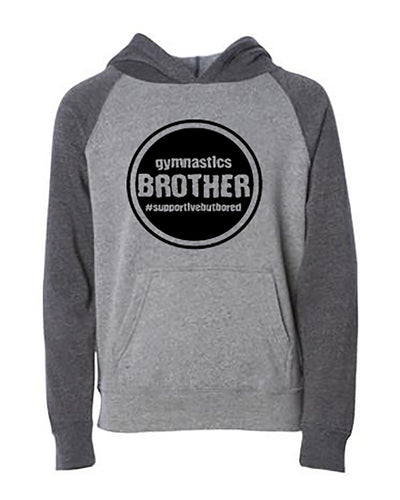 Gymnastics Brother Youth Hoodie