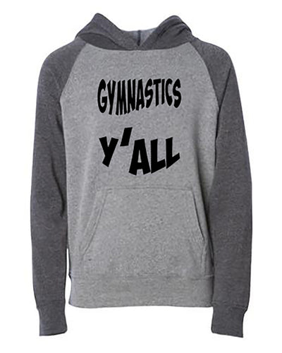 Gymnastics Y'all Youth Hoodie