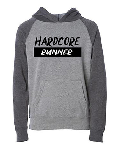 Hardcore Runner Youth Hoodie