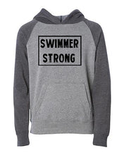 Swimmer Strong Kids Hoodie