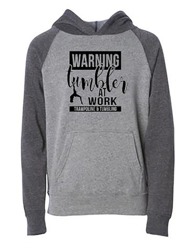 Tumbler At Work Trampoline & Tumbling Youth Hoodie