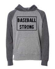 Baseball Strong Youth Hoodie