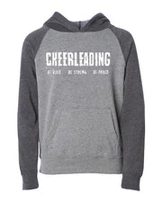 Cheerleading Be Bold Be Strong Be Proud Youth Hoodie