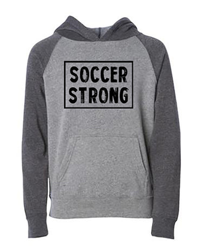 Soccer Strong Youth Hoodie