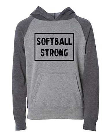 Softball Strong Tees Tanks Hoodies