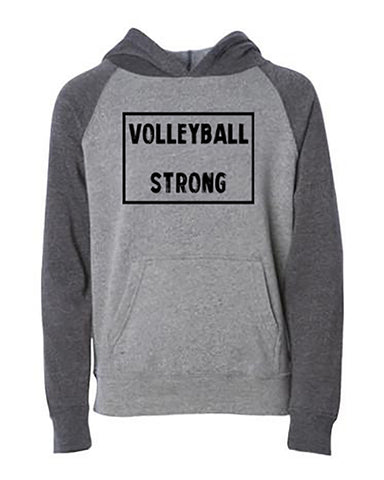 Volleyball Strong Tee Tanks Hoodies