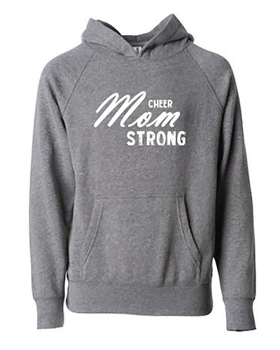 Cheer Mom Strong Adult Hoodie