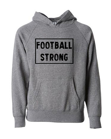 Football Strong Tees Hoodies