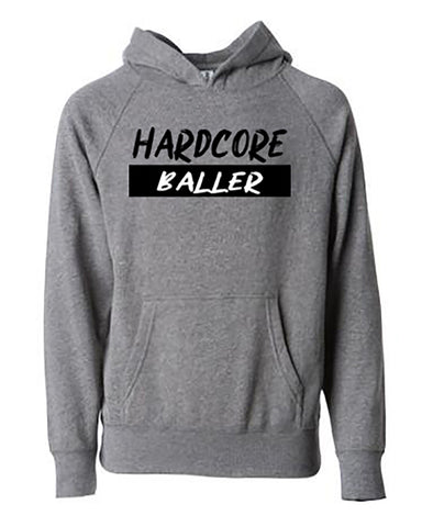 Hardcore Baller Tees Hoodies