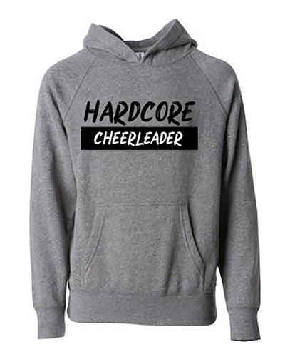 Hardcore Cheerleader Adult Hoodie
